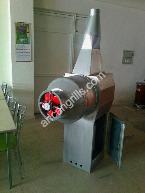 Fan Wood Heater