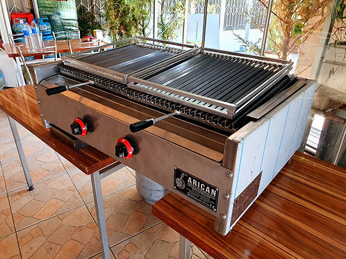 Natural Gas&Lava Stone Grill Barbecue