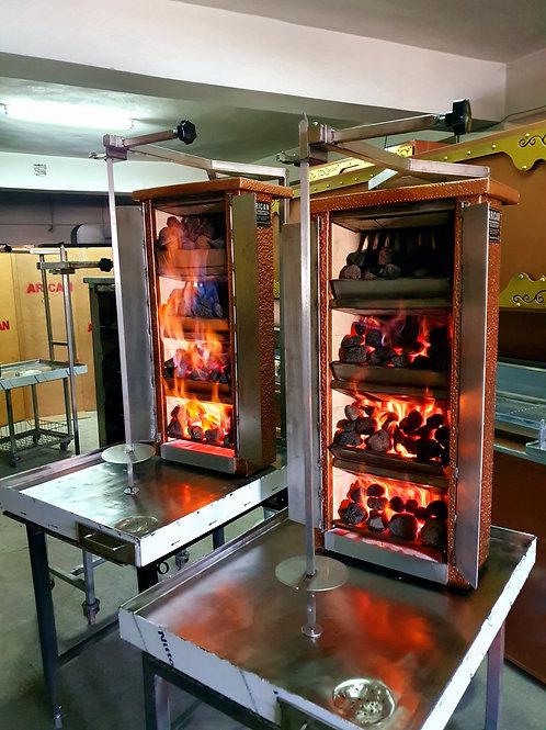Gas & Lava Stone Doner Gyro Grill Machine