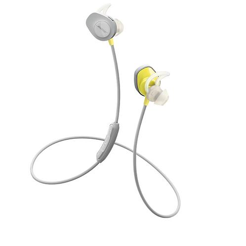 Bose SoundSport Wireless In Ear Bluetooth Headphones Citron Yellow