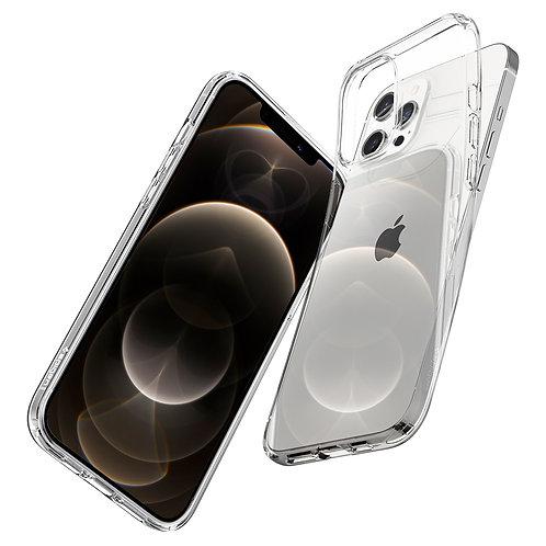 Spigen Case Crystal Flex Crystal Clear for iPhone 12 / 12 Pro