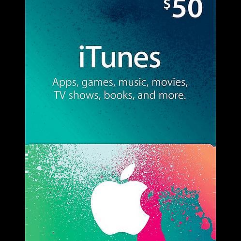 Apple App Store Gift Card $50