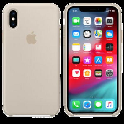 Silicon Case iPhone XS - Stone
