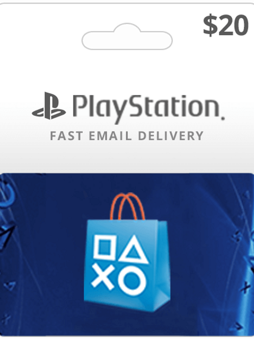 PlayStation Gift Cards $20