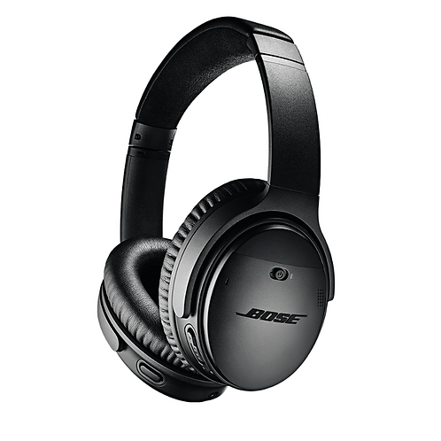 Bose QuietComfort 35 II Wireless Over Ear Bluetooth Headphones Black