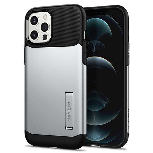Spigen Case Slim Armor iPhone 12 Mini Satin Silver
