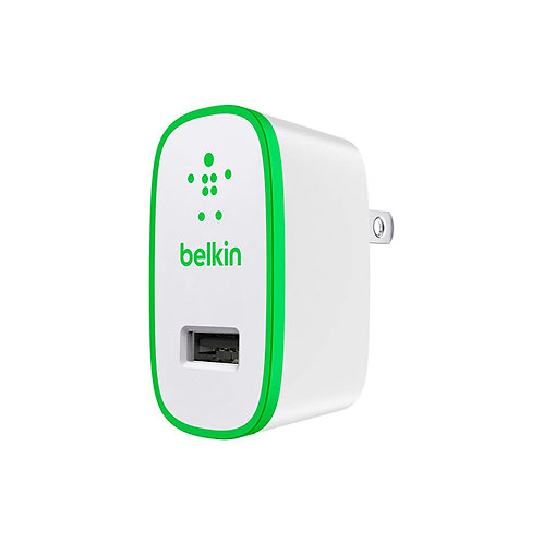 BELKIN WALL CHARGER 2.1 AMP FOR IPHONE - IPAD
