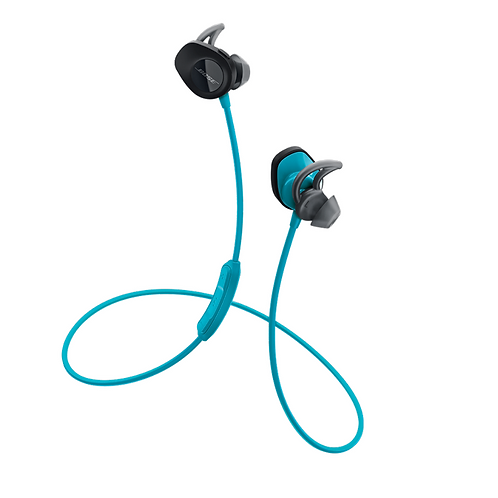 Bose SoundSport Wireless In Ear Bluetooth Headphones Aqua