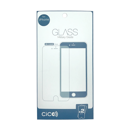 Cico (2-Pack) Temper Glass foriPhone X/Xs iPhone X - iPhone 11Pro