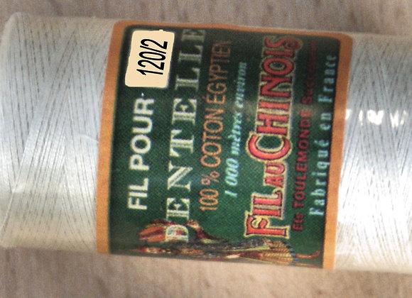 Coton égyptien 120/2 - Ecru