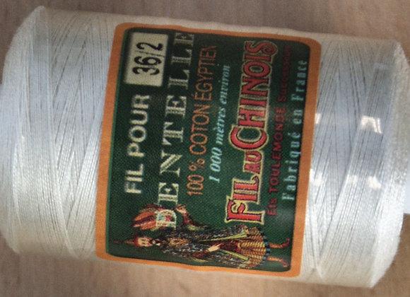 Coton égyptien 36/2 - Ecru