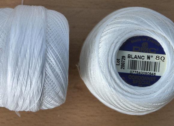 Cordonnet spécial 80 - Blanc