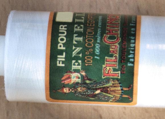 Coton égyptien 100/2 - Blanc
