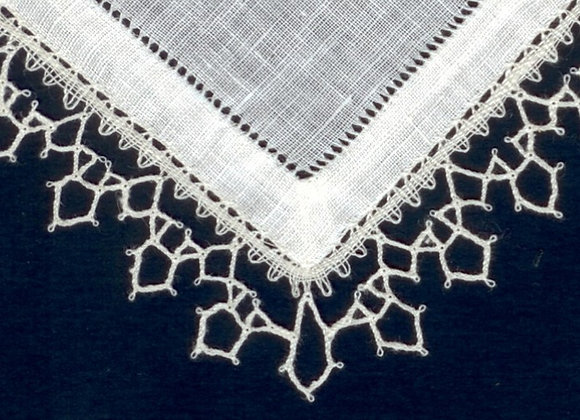 Batiste de lin blanc