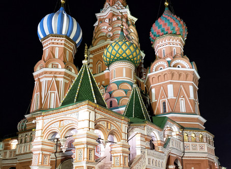 2. The Journey - Moscow and the Siberian Express