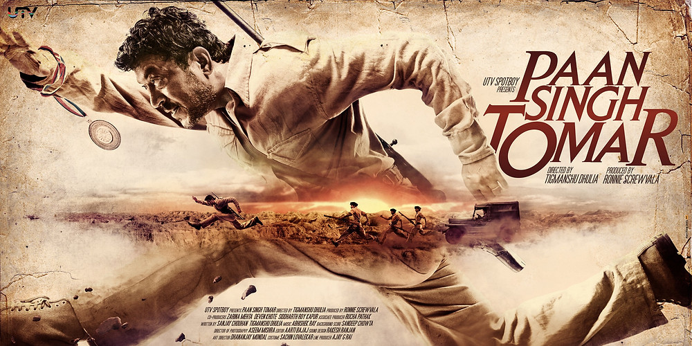 Source: https://www.behance.net/gallery/5383275/Paan-Singh-Tomar-poster-design