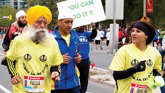 The world's oldest marathoner: India's Turbaned Tornado
