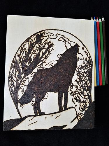 Nature Pyrography Art Kit (Wolf)