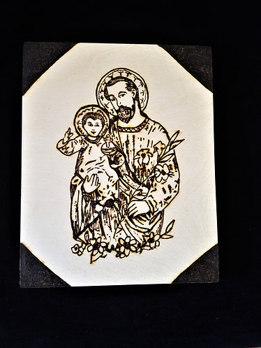 Catholic Pyrography Art Kit (St. Joseph)