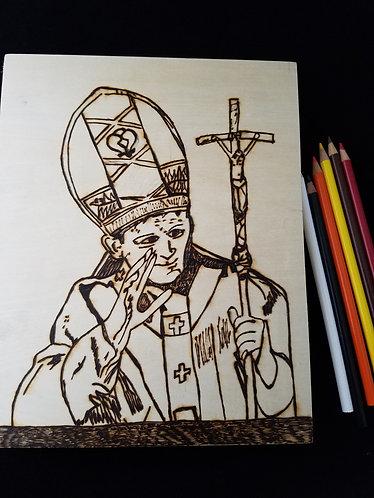 Catholic Pyrography Art Kit (Pope Kit)