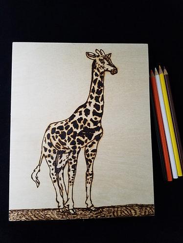 Nature Pyrography Art Kit (Giraffe)