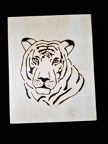 Nature Pyrography Art Kit (Tiger)