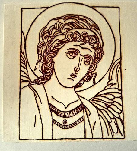 Catholic Pyrography Art Kit (St. Michael Icon Art)