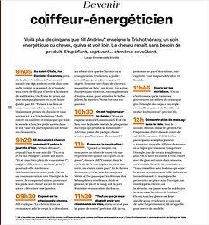 Magazine Echos Coiffure n°65 - La Trichothérapy