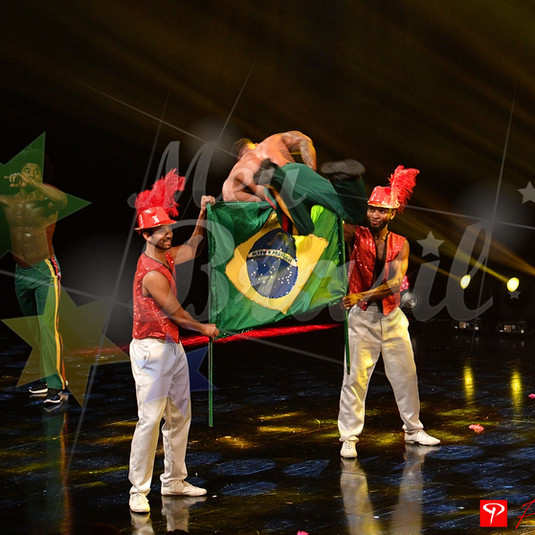 capoeira sur scène