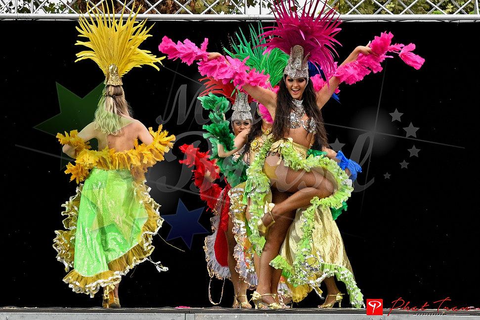 animation brésilienne danseuse