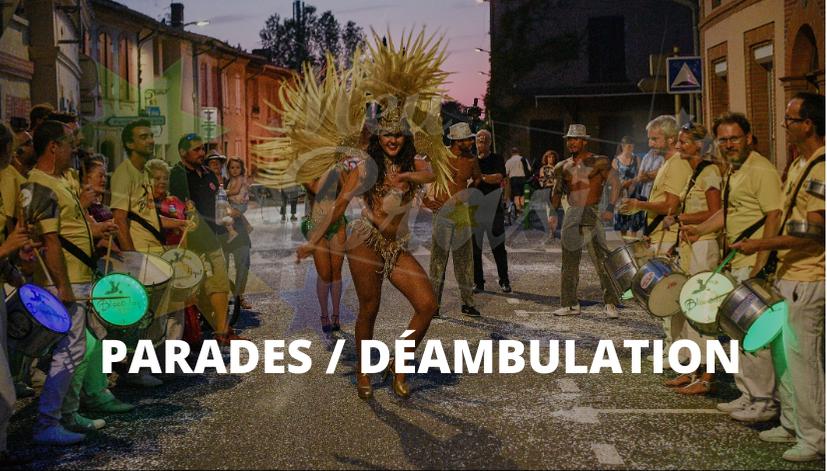 carnaval de rue parade déambulation brésil