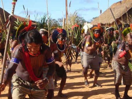 """Demain c'est le """"dia do Indio"""", le jour de l'Indien."""