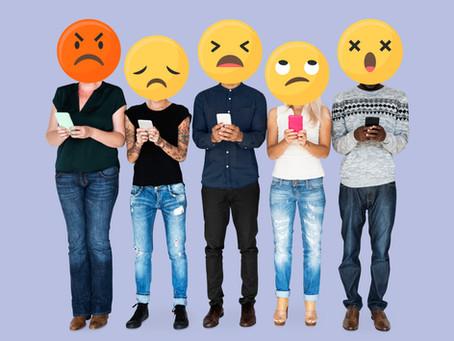 Como lidar com críticas e comentários negativos nas redes sociais
