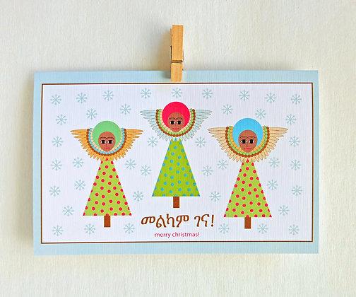 3 happy angels