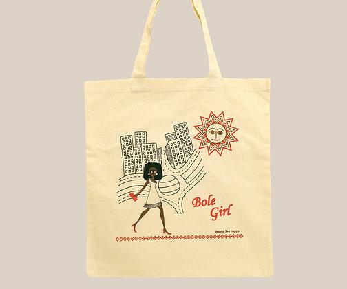 bole girl tote bag