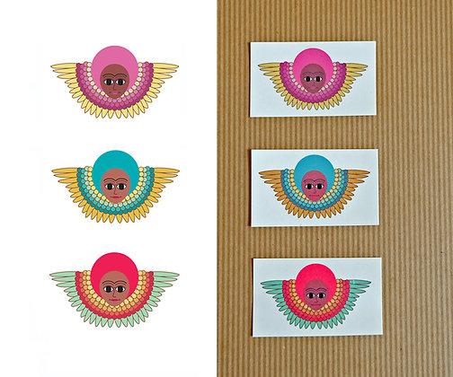 angels - set of 3