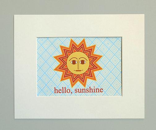 hello sunshine - orange