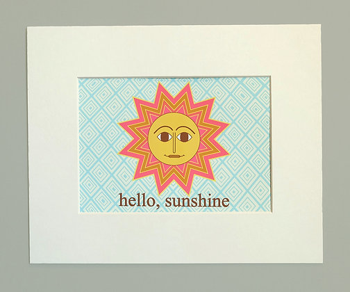hello sunshine - pink
