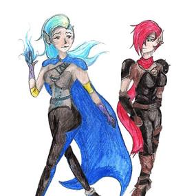 Unlikely Sisters