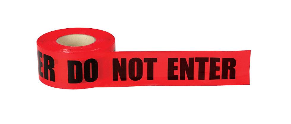 DANGER DO NOT ENTER Barricade Tape - DDNE2