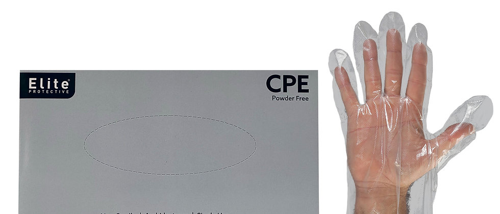 CPE Disposable Gloves - 9642