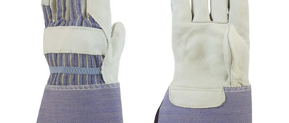 "4 ½"" Rubberized Gauntlet Cuff Leather Palm - 5725EA"