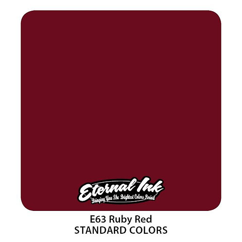 Eternal Ink - E63 Ruby Red