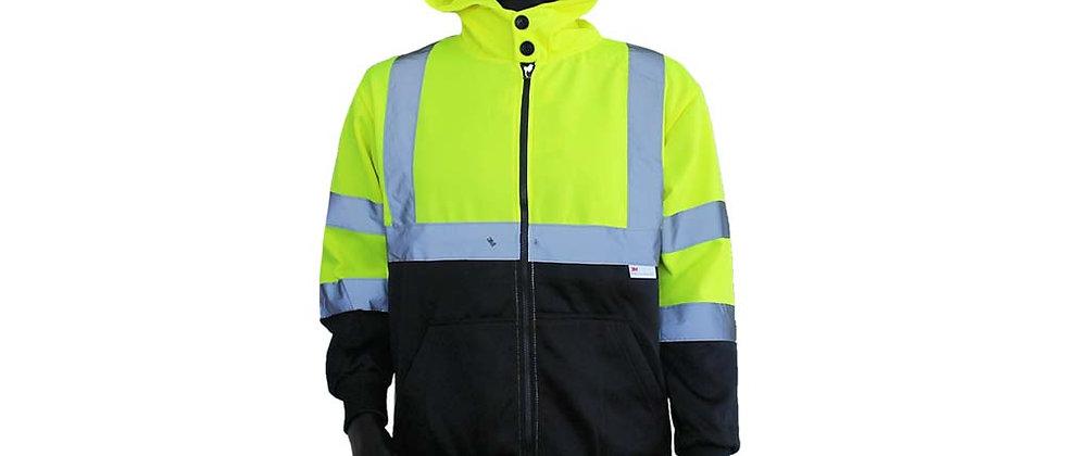 Front Zip-up Sweatshirt - A8374B