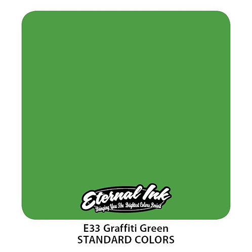 Eternal Ink - E33 Graffiti Green