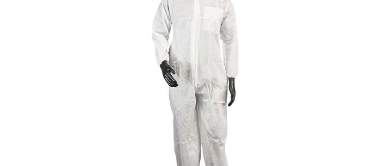 White SMS Coverall - 7358