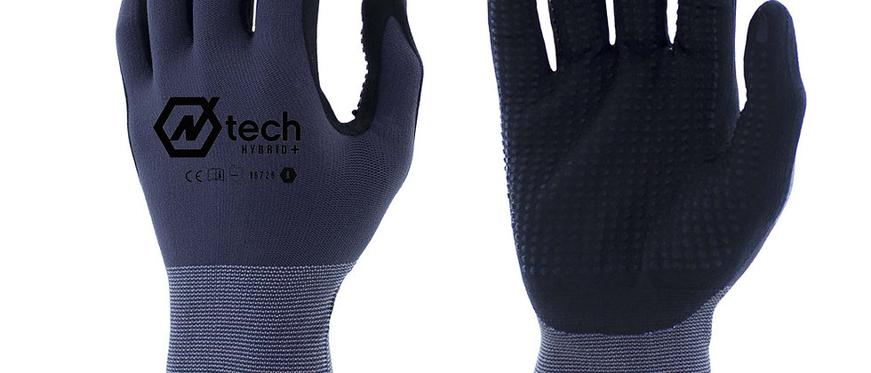 N-Tech Hybrid Plus® Nitrile and PU Coated -16725