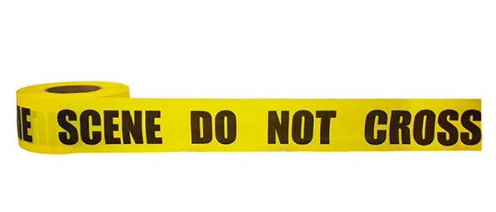 CRIME SCENE DO NOT CROSS Barricade Tape - CCS2