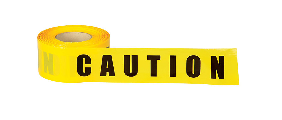 CAUTION Barricade Tape - CT2
