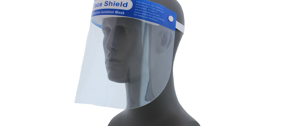 Clear Protective Face Shield - 90028